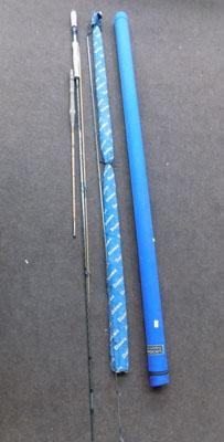 3x Graphote Daiwa fly rods & 1 split cane wilks rod