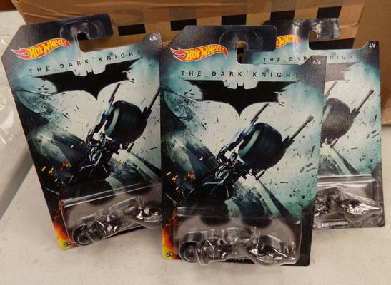 12x Batman hotwheels