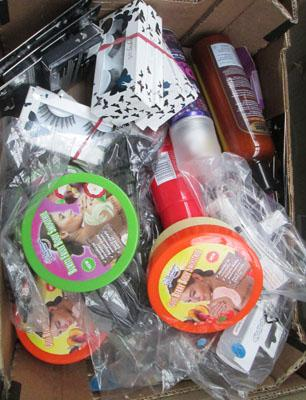Box lot of cosmetics