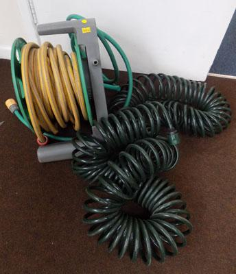 Large hose on reel & flexi hose
