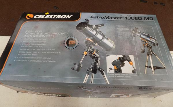 Celestron Astronomer 130 EQ MD telescope