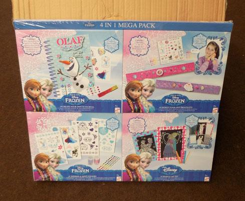 Box of Disney Frozen mega packs