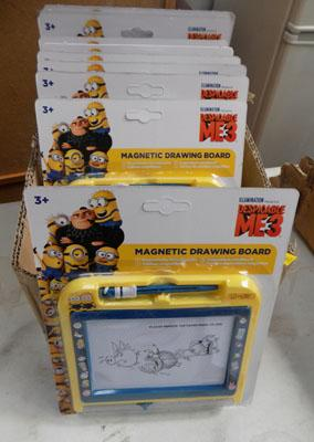 Box of 12 Dispicable Me 3 scribbles