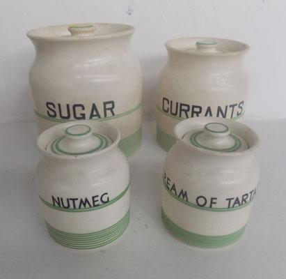 Kleen kitchenware storage jars