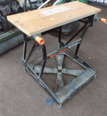 Black & Decker work bench