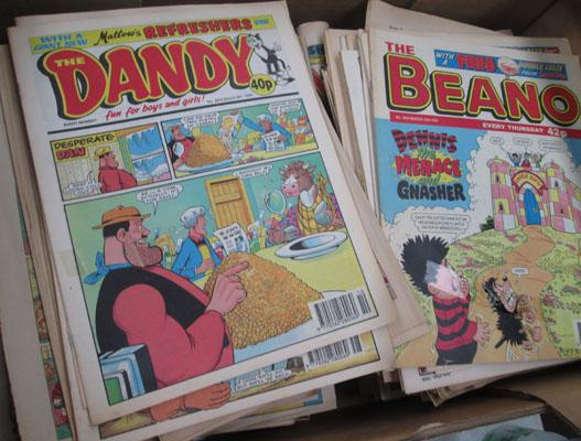 Large amount of Dandy & Beanos