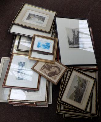 Joblot of framed prints/pictures