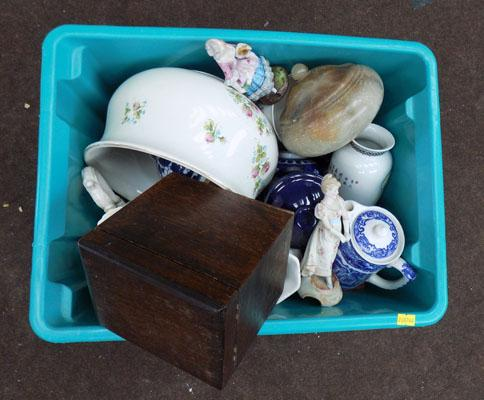 Box of bric a brac