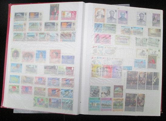 Large album of mint & used Early Commonwealth stamps