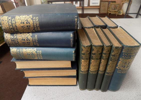Collection of Charles Dickens novels