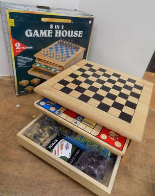 8 in 1 game house (unused)