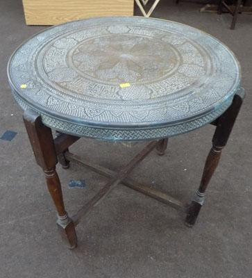 Ornate coffee table/card table