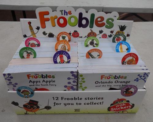 Box of Froobles story books