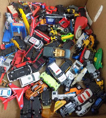 Large box of die cast