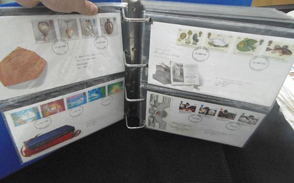Well filled album of First Day covers