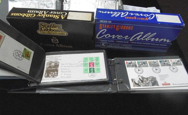 2x Boxed albums of First Day Covers