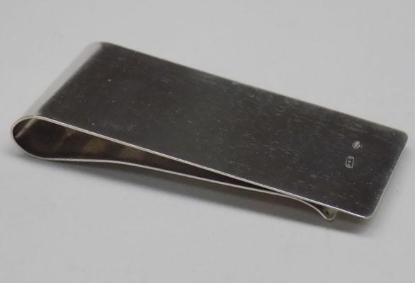 800 silver money clip - large size