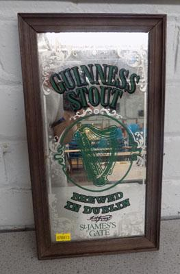 Guiness stout mirror