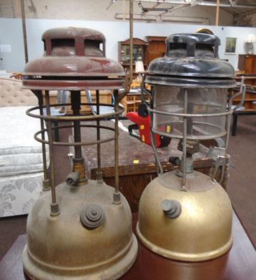 A pair of Tilly lamps