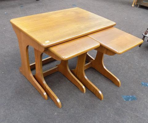 Nest of G plan style tables