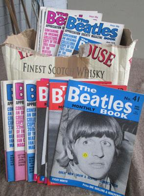 80 Old original Beatles books 60's, 70's and 80's