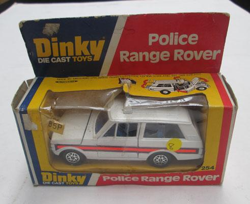 Boxed 1970's Dinky no254 Police Range Rover
