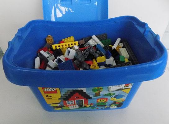 Box of Lego in large box