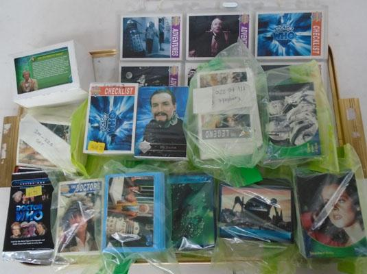Mixed lot of Dr Who trading cards