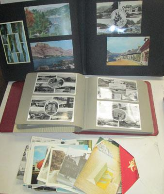 2x Albums of mixed postcards & others