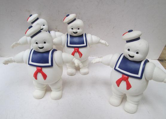 4x Ghostbusters marshmallow man