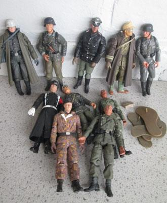 Collection of 21st Century WWII figures  German