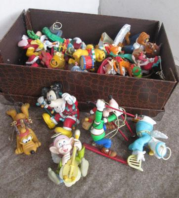 Box of Disney character figures