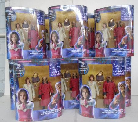 "Dr Who Sarah Jane 5"" figures, new & boxed"
