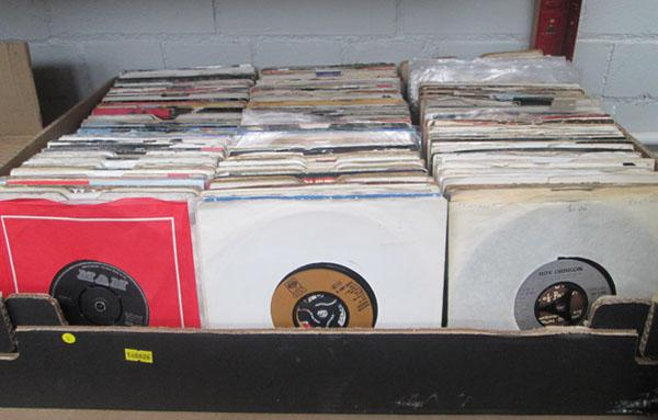 Large box of mixed singles