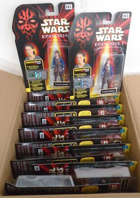 16x Star Wars Padme figures new, boxed