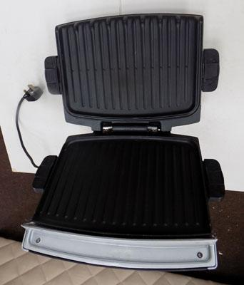 George Foreman grill (removable plates) w/o