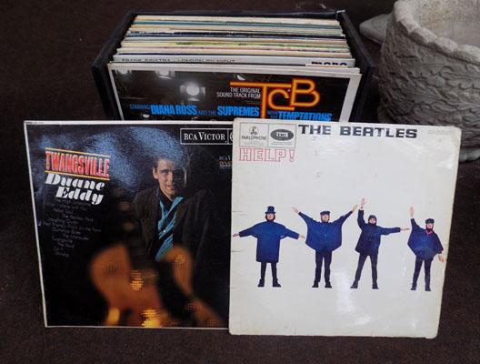 Case of LP records mainly 1960's