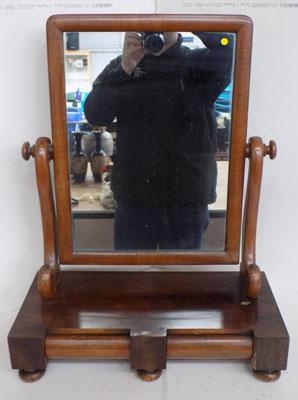 Dressing table mirror with 2 drawers