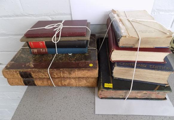 Selection of vintage books