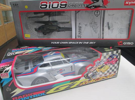 Remote control Helicopter & Rally car-both new & boxed