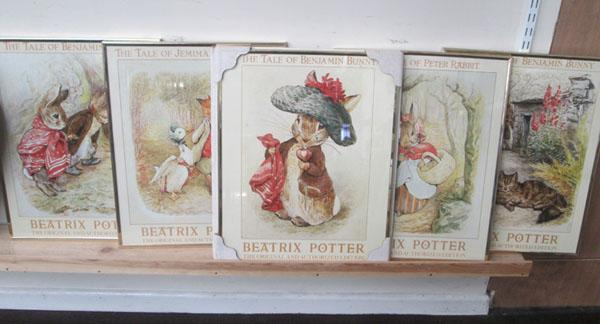 5x Beatrix Potter pictures