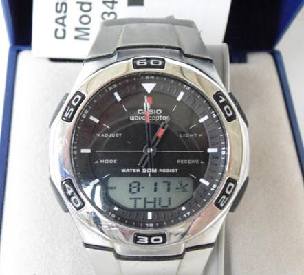Casio Wave |Ceptor watch w/o automatically changes time BST time change