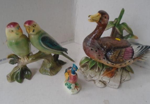 3x Quality ornaments inc Beswick