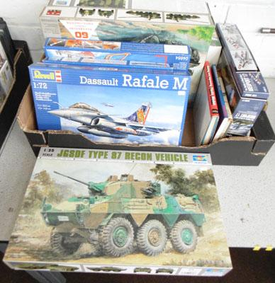 Brand new plastic kits & model making books, Revell etc
