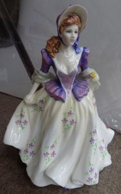 Royal Doulton Sweet Lilac figurine