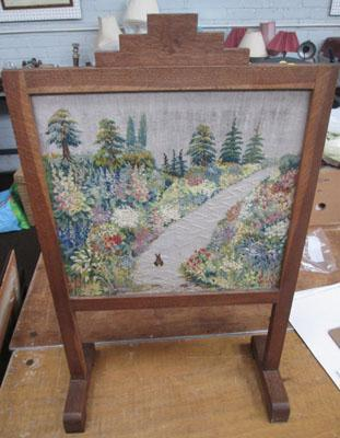 1920's Fire screen