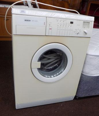 Washing machine w/o
