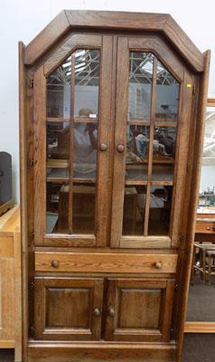Dutch glass display cabinet