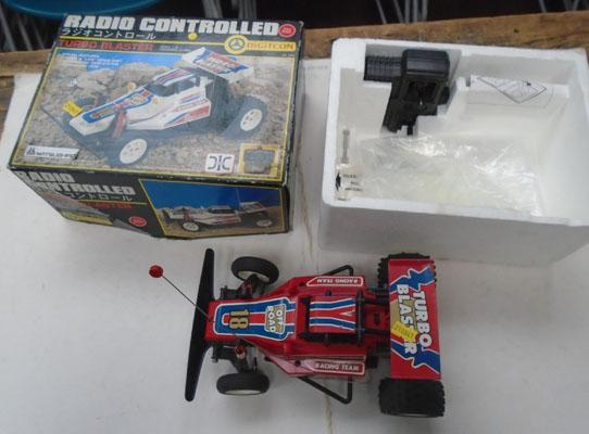 Radio control 'Turbo Blaster' off road car (w/o)