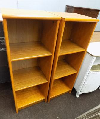 Pair of bookshelves